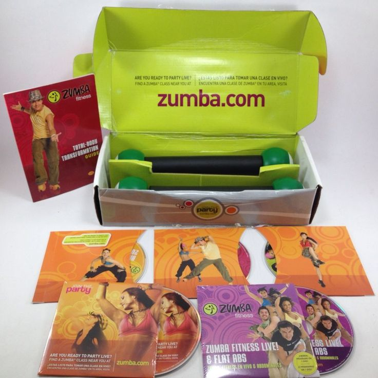 Zumba Fitness Live Dvd: Zumba Fitness Complete Total Body Transformation System 5