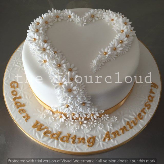 the 25 best ideas about anniversary cakes on pinterest 50th anniversary cakes golden. Black Bedroom Furniture Sets. Home Design Ideas
