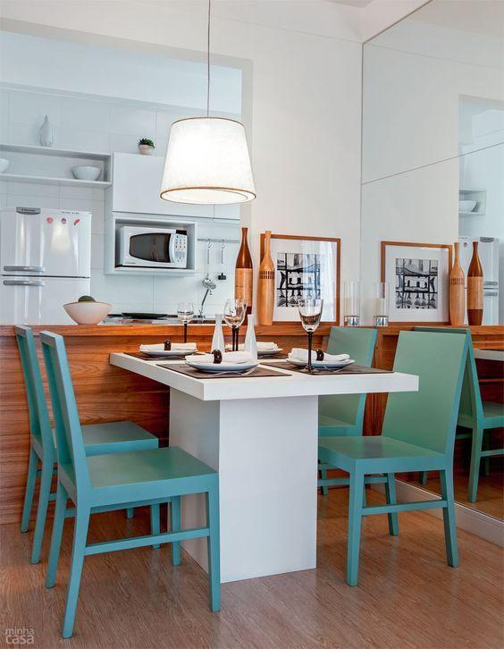 Sala de Jantar Apartamento Pequeno 15