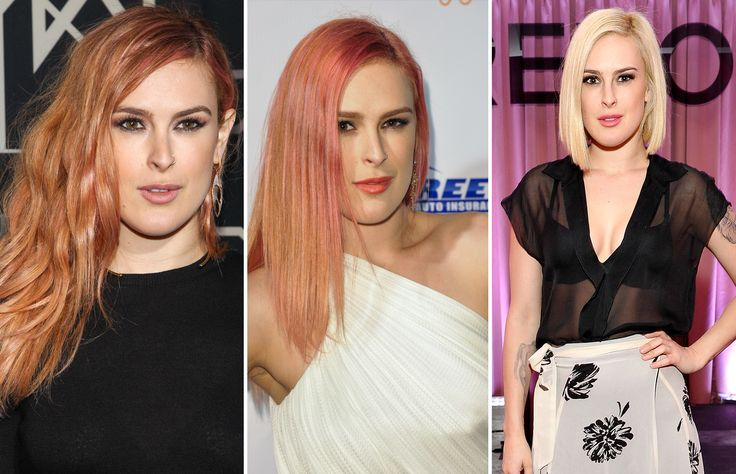 RUMER WILLIS (Dari kiri ke kanan)  April, Mei, November 2014