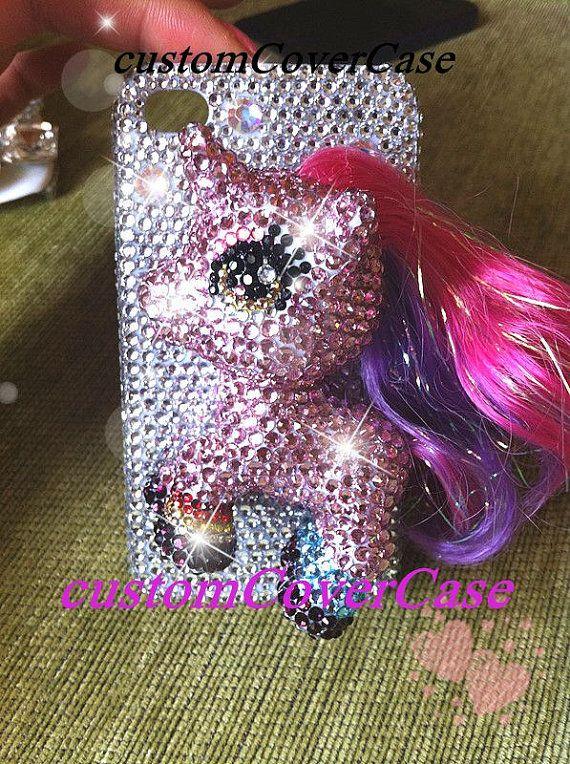 iPhone 5 s affaire mon petit poney sparkle par customCoverCase, $30.89