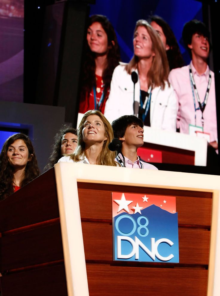 Caroline Kennedy and Edwin Schlossberg Photo - 2008 Democratic National Convention: Day 1