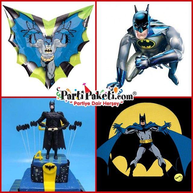 Süper güçleri yoktur belki ama  zekası ve dedektiflik yeteneğini, şirketi sayesinde bilim, teknoloji ve kişisel serveti  ile destekleyerek savaşını sürdüren süper kahramanımız Batman'i hangi çocuk sevmez ki. Batman parti konsepti için aradığınız ne varsa PartiPaketinde…#PartiPaketi #Parti #Eğlence #Erkekçocukpartitemaları #erkekdoğumgünü #çocukpartisi #erkekçocukpartifikirleri