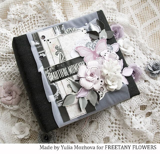 Freetany Flowers: Романтический альбом. Вдохновение от YuliaM