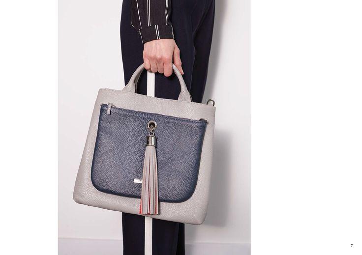 VVA Handbags - Dahlia Grey Leather Bag  http://www.vva.co.uk/products/dahlia-grey