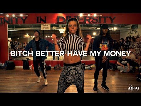 """This Choreography To Rihanna's """"Bitch Better Have My Money"""" Transcends All"""