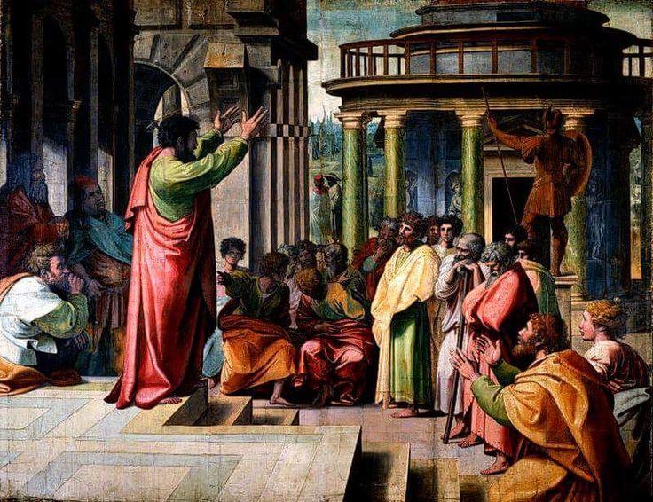 #santidelgiorno Dionigi l'aeropagita