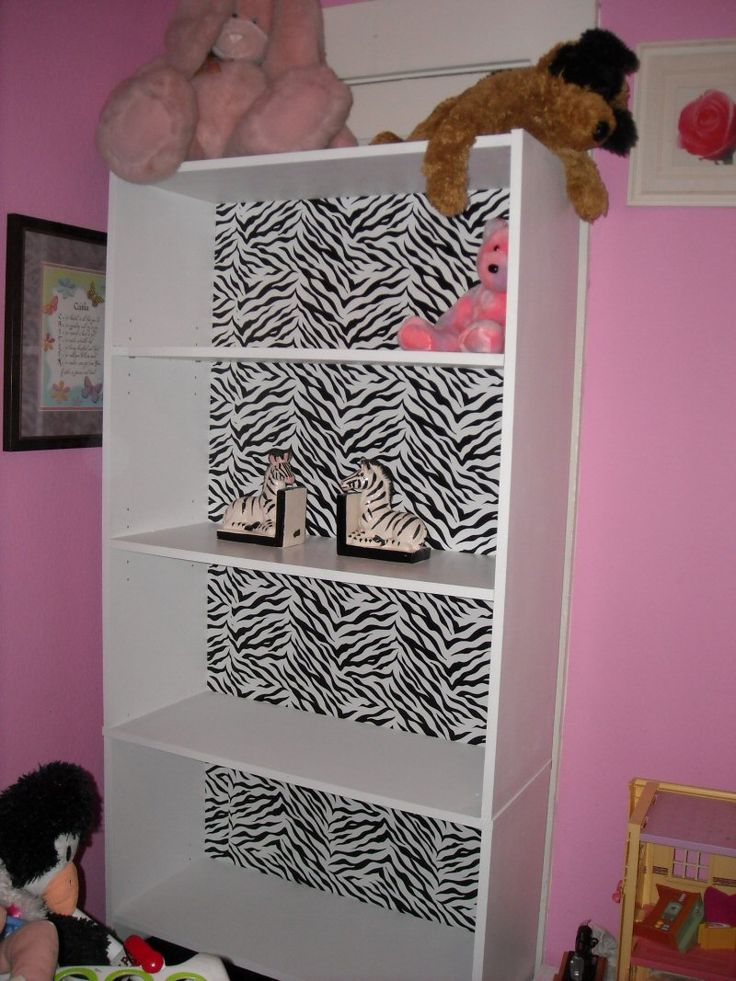 decorating on a dime pinterest zebra bookcase derty s design on a dime zebra bookcase 12059