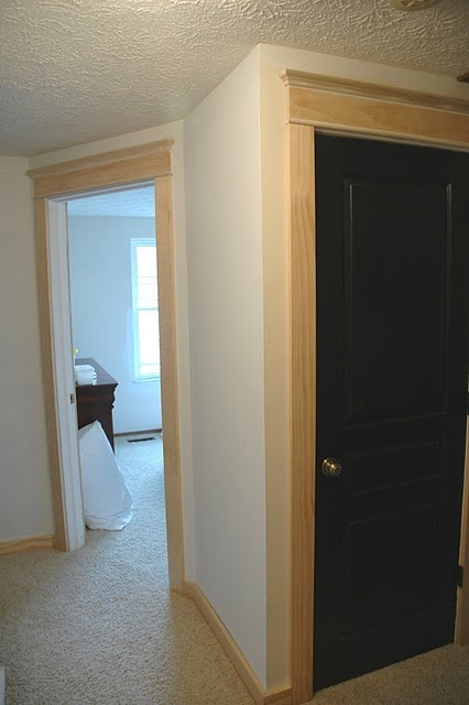 Door trim for front entry