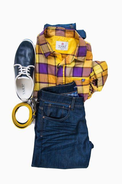 Yake Jeans | Still Life #stilllife #menswear #erkekgiyim #moda #erkek #gömlek #renk #sarı #jean #ayakkabı