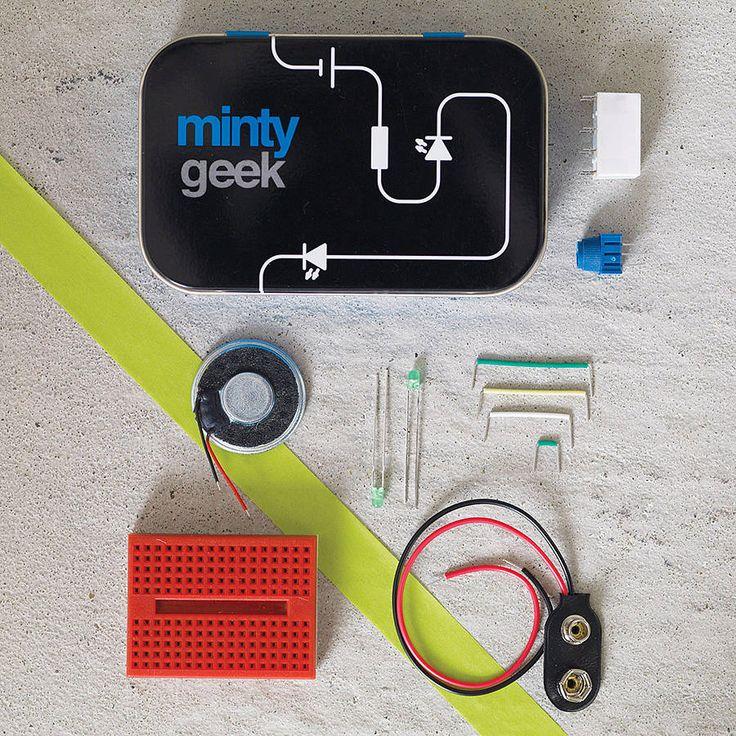 electronic lab 101 kit by minty geek   notonthehighstreet.com