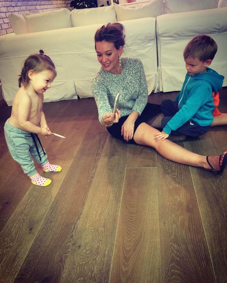 Baby Ryan Rosenberg, Hilary Duff & Luca Cruz Comrie
