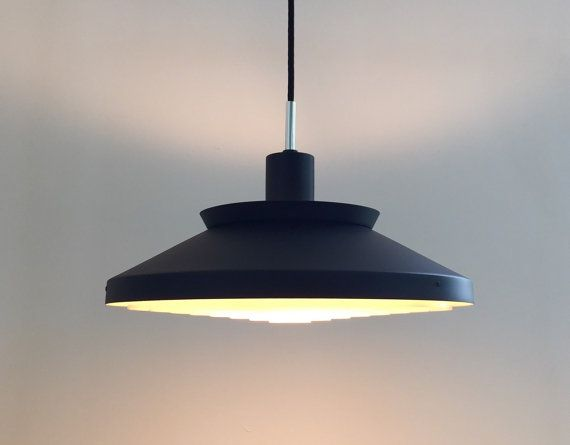 Danish classic ceiling light by Bent Karlby for Lyfa 1961