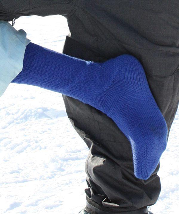 Lone Peak - Socke Anleitung