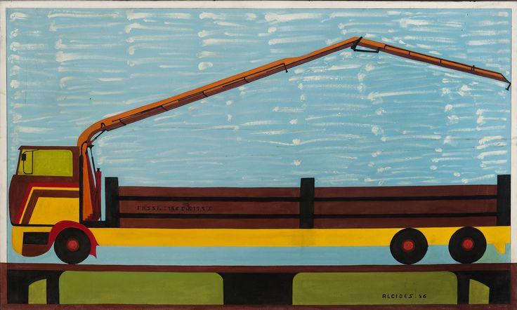 Alcides Pereira dos Santos Fassi, 1996 Acrílico sobre tela 88 x 150 cm