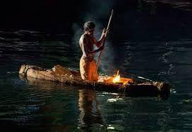 Image result for aboriginal bark canoe