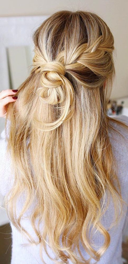 Wedding Hairstyles For Long Hair romantic updos wedding hairstles with curls for long hair 36 Our Favorite Wedding Hairstyles For Long Hair