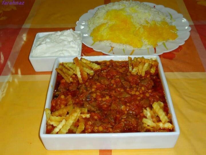 Gheymeh(Iranian food)