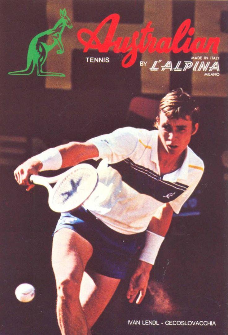 Australian Collection #ivandlendl #lendl #vintagetennis #tennisfashion