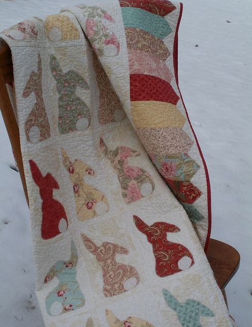 MultiplyingRabbits22 by eamylove, via Flickr.  Pattern is coming soon!