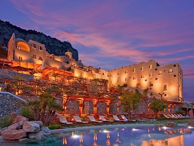 Monastero Santa Rosa Is A Stunning Luxury Hotel On The Amalfi Coast Of Italy Near Positano And Ravello Read About This Unique Beach