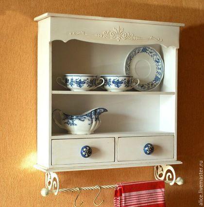 Móveis artesanais.  Mestres Fair - handmade.  Compre uma prateleira universal.  Handmade.  Multicolorido, cozinha, prateleira do banheiro, madeira compensada