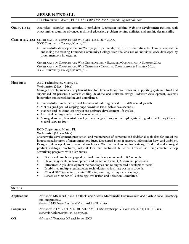 21 best resumes images on pinterest