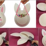 DIY Easter Bunny Bag Using Paper Plates