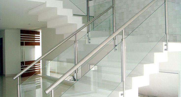 escada corrimão vidro - Pesquisa Google