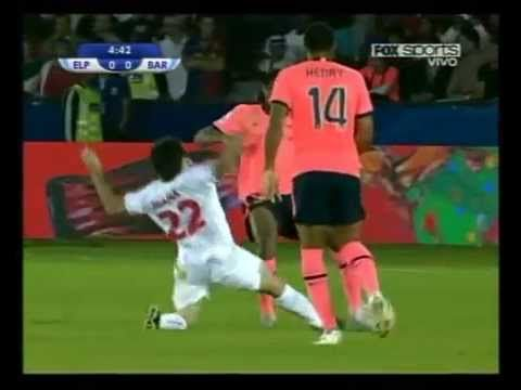 Estudiantes vs Barcelona - Mundial de Clubes 2009 - Partido Completo