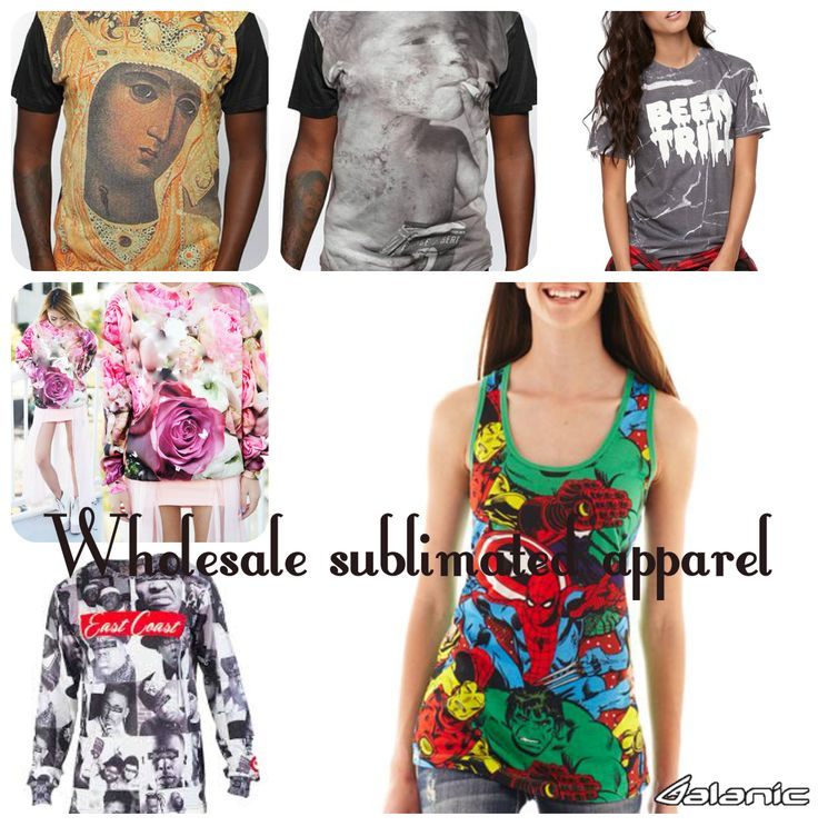 Sublimation Clothing As The Latest Trend In Terms Of High Street Fashion @alanic.com