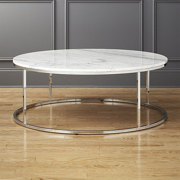 Best 25 marble top coffee table ideas on pinterest diy for Cb2 round coffee table