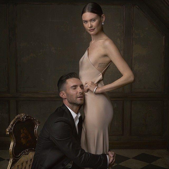Adam Levine for vanity Fair oscars