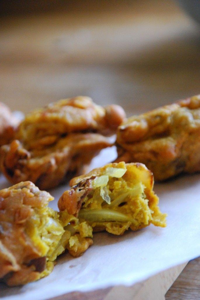 Homemade Onion & Mushroom Bhaji's #grainfree #glutenfree | Super Naturally Healthy with Kezia Hall