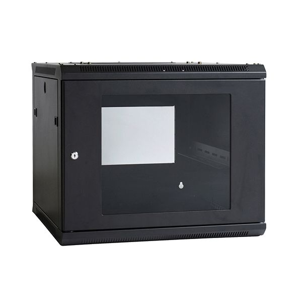 Wall Mount Enclosure 9RU 600mm. The 19″ Wall Mount Rack range provides effortless installation of both the cabinet and your valuable equipment without compromising cabinet strength or security. We also offer a wide range of rack and enclosure accessories allowing you to customise your system to suit your data requirements. This accessory range has been designed for maximum flexibility without compromising the security of your valuable equipment or the strength of the enclosure.
