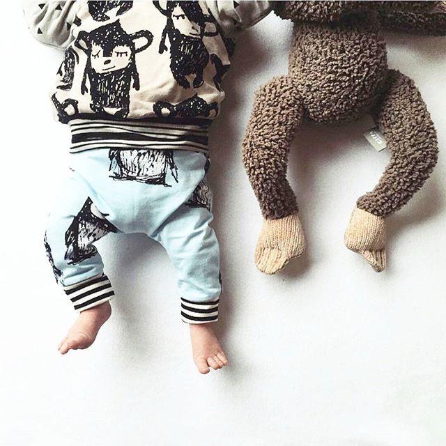 Designer Baby Fashion  Love this monkey madness from @siennaandme   — Yummy Mummy Pregnancy Day Spa