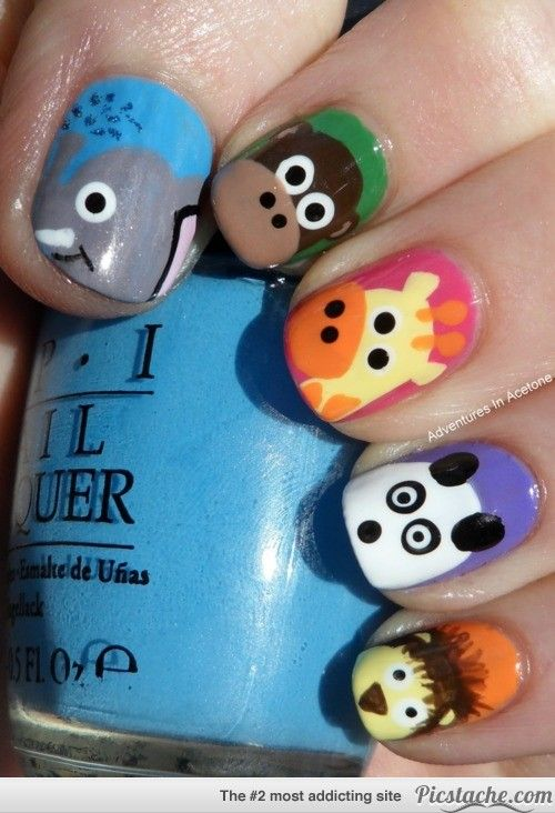 25 Super Cute Kid-Approved Nail Art Designs | Hair, Nails & Make-up |  Pinterest | Nails, Nail Art and Cute nails - 25 Super Cute Kid-Approved Nail Art Designs Hair, Nails & Make-up