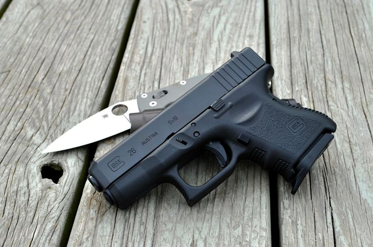 Glock 26 Compact Carry Top Concealed Carry Pinterest
