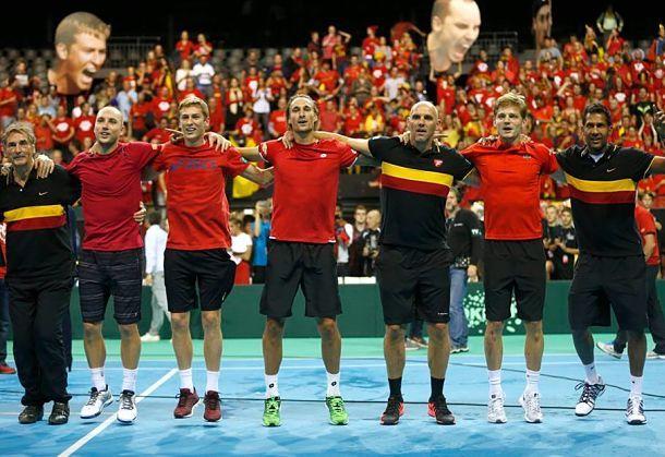 Belgium Davis Cup 2015