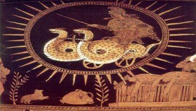 Τα έργα του Αισχύλου βρίθουν από αναφορές σε ιπτάμενα σκάφη.   Αν και γραμμένα περίπου 2500 χρόνια πριν την πρώτη επίσημη πτήση αεροσκάφο...