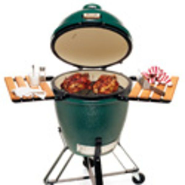 The Big Green Egg is a grill with a cult following.