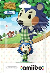 Mabel Amiibo Animal Crossing
