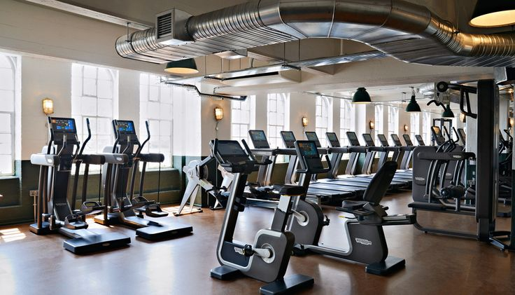 Our Top Of The Line Artis Range Of Equipment At The Equally Stunning Shoreditch House A Private Member S Club I Shoreditch House House Gym Soho House Berlin