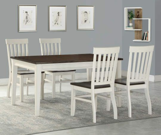 Peachy Stratford Caylie Farmhouse Dining Set Big Lots New Gmtry Best Dining Table And Chair Ideas Images Gmtryco