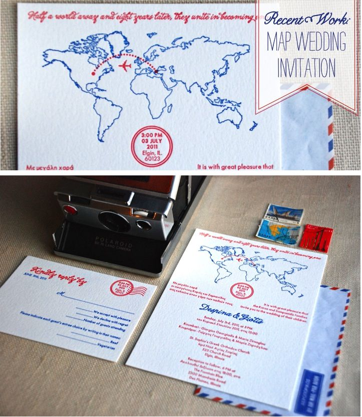 sample wedding invitation email wording to colleagues%0A Recent Work  Map Wedding Invitation