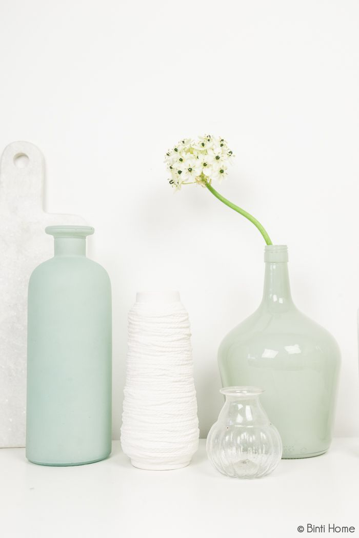 Woonaccessoires mintblauw en turquoise - Binti Home Shop #pastel #mint #interior #styling