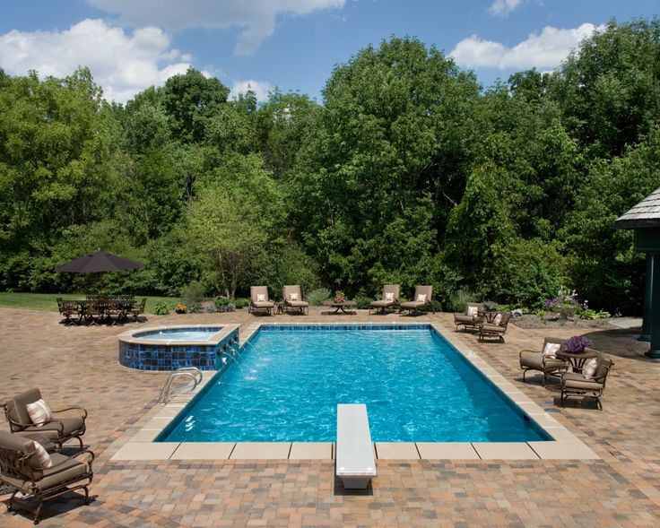 127 best images about Classic Pool & Patio Builds on Pinterest