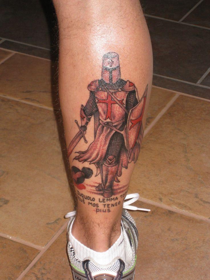 Templar Knight Tattoo | Harley Davidson & Tattoos