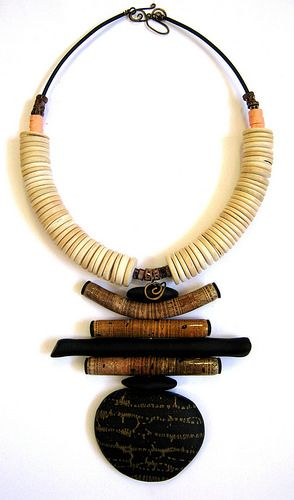 Bold Tribal Necklace   by DebbieCrothers