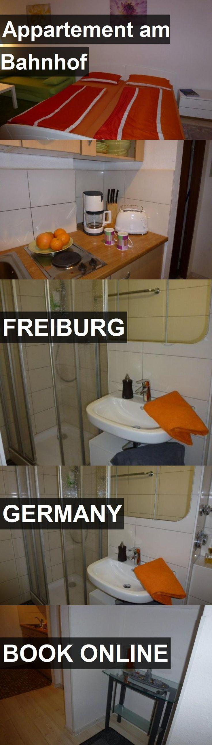 Hotel Appartement am Bahnhof in Freiburg, Germany. For more information, photos, reviews and best prices please follow the link. #Germany #Freiburg #travel #vacation #hotel